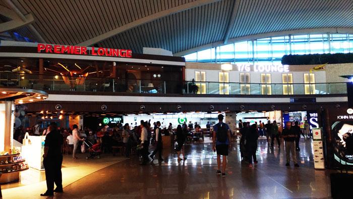 バリの空港からクアラルンプールへ