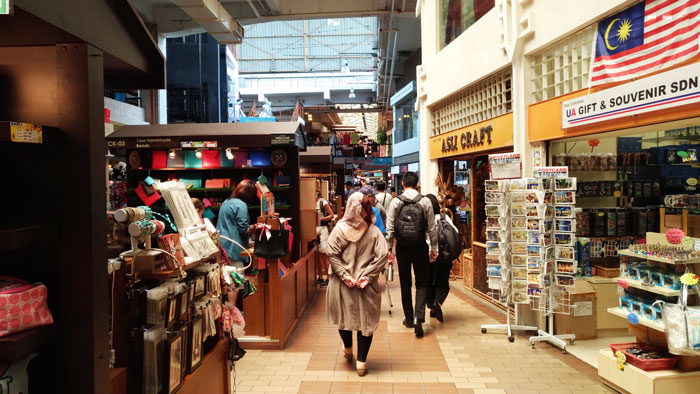 クアラルンプールのセントラルマーケット内部