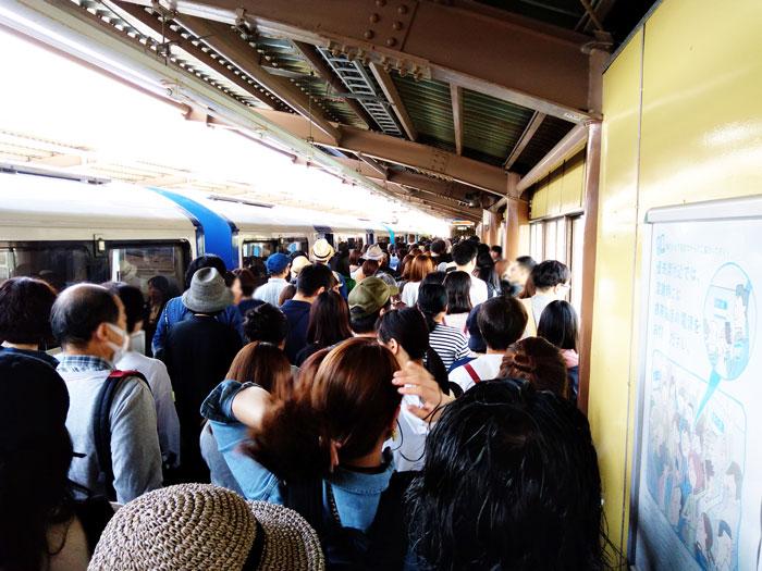 東京蚤の市最寄り駅