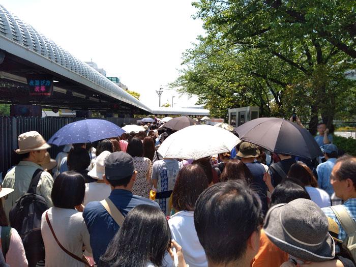 東京蚤の市入場列