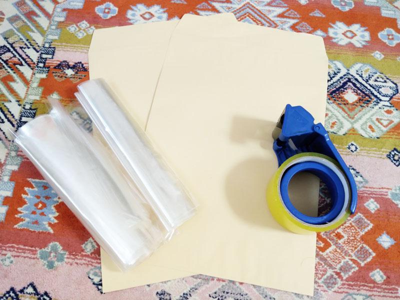 ネコポス発送のための梱包