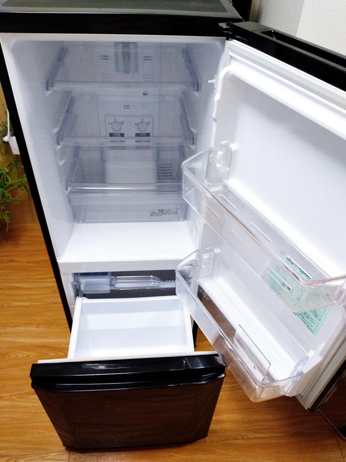出品する冷蔵庫の状態