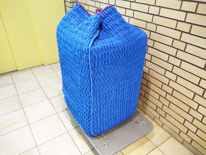 洗濯機らくらく家財宅急便の梱包