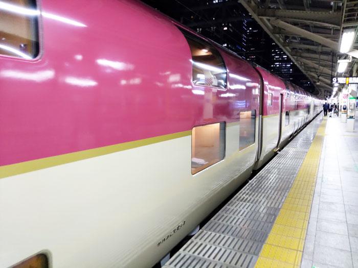 東京駅でサンライズ出雲に乗り込む