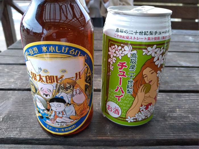 鳥取砂丘のお土産物屋