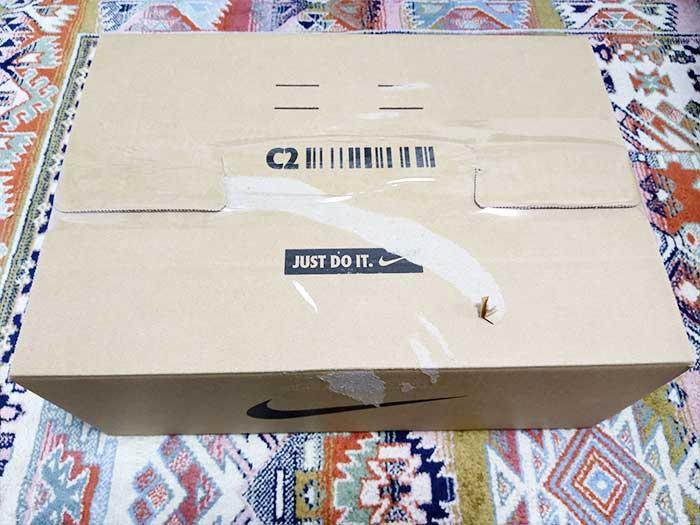返品交換品の梱包