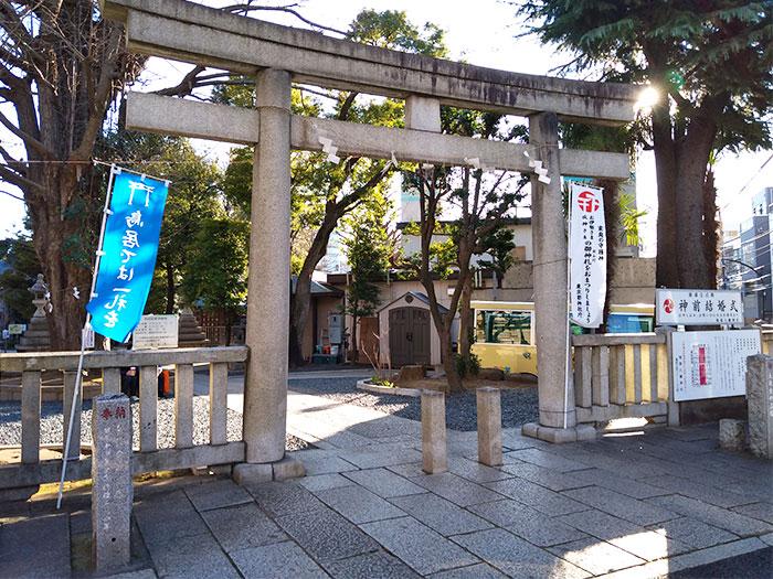 3月のライオンマンホール探索スタートは鳩森神社から