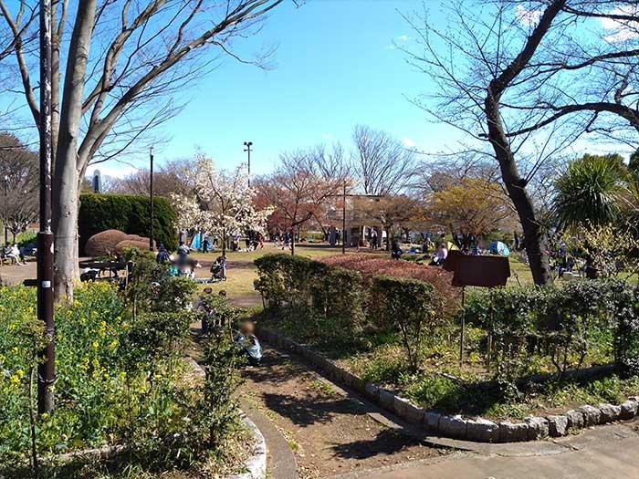 夢見ヶ崎動物公園の公園ゾーン