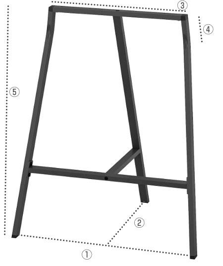 IKEAテーブル脚