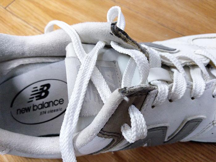 ニューバランス靴紐の結び方