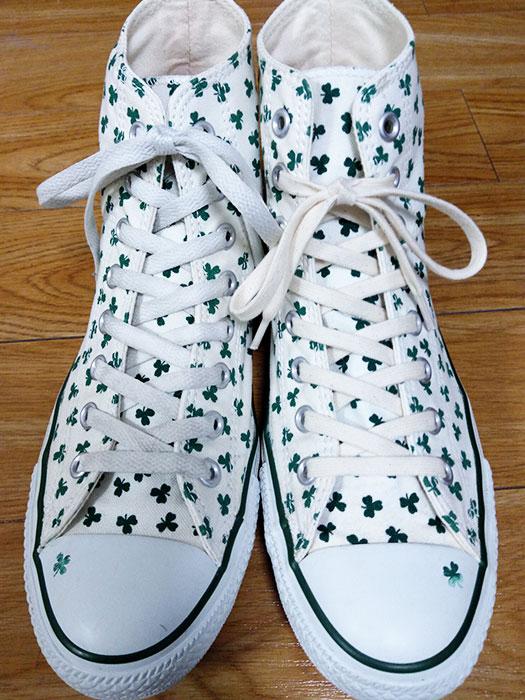 コンバースの靴紐を変える