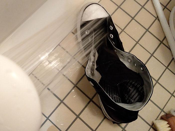 コンバースオールスターの洗い方
