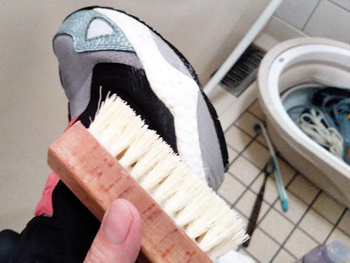 ポンプフューリーを洗う