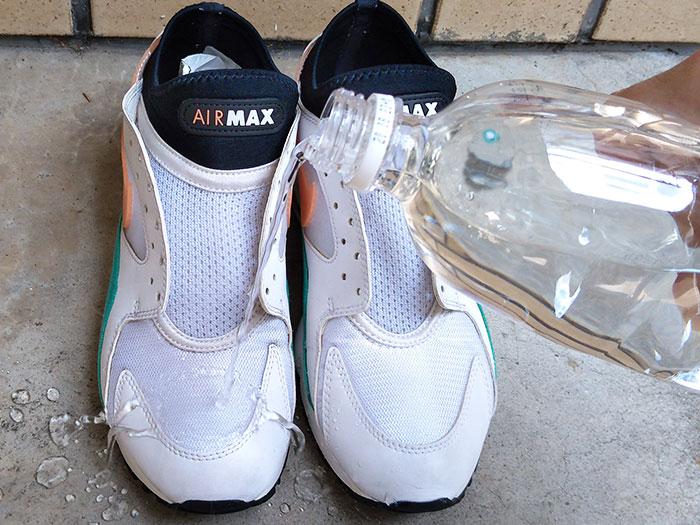 AIR MAX 93の防水効果