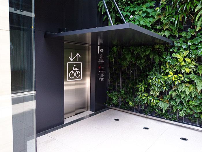 WITH HARAJUKU自転車駐輪場へのアクセス