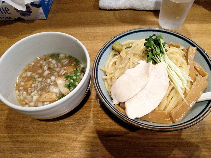 小岩のつけ麺鼈(スッポン)