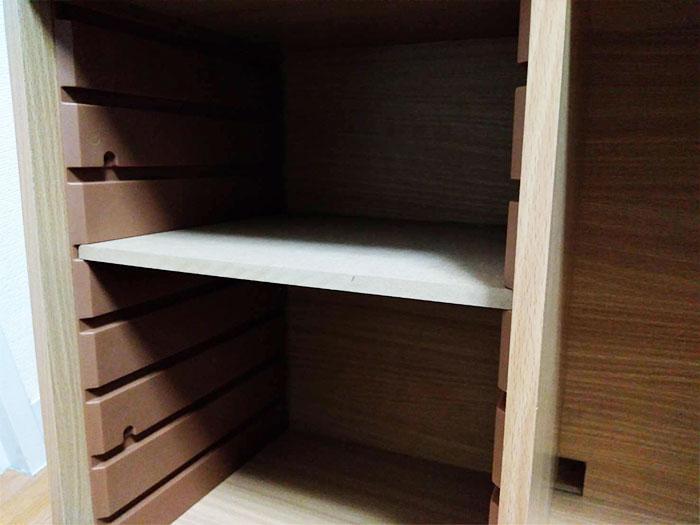 アイリスオオヤマのカラーボックス用棚